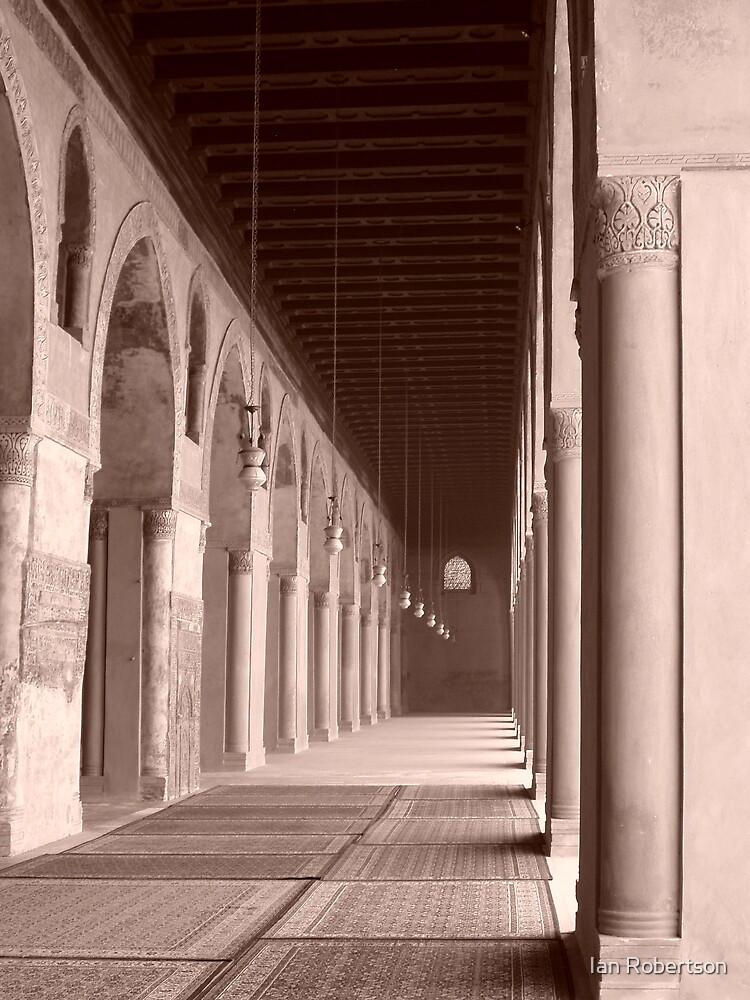 mosque sepia by Ian Robertson