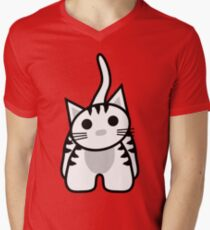Shadow the Kitty V-Neck T-Shirt