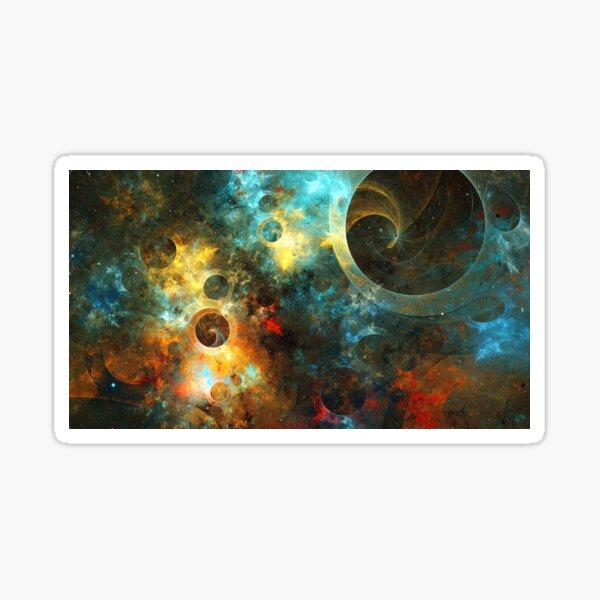 Cosmodrom porthole Sticker