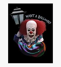 Want a balloon? Photographic Print