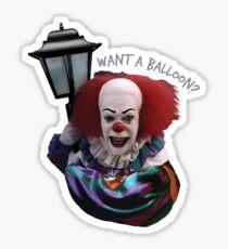 Want a balloon? Sticker