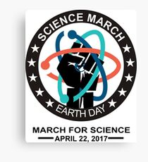 Science March Canvas Print
