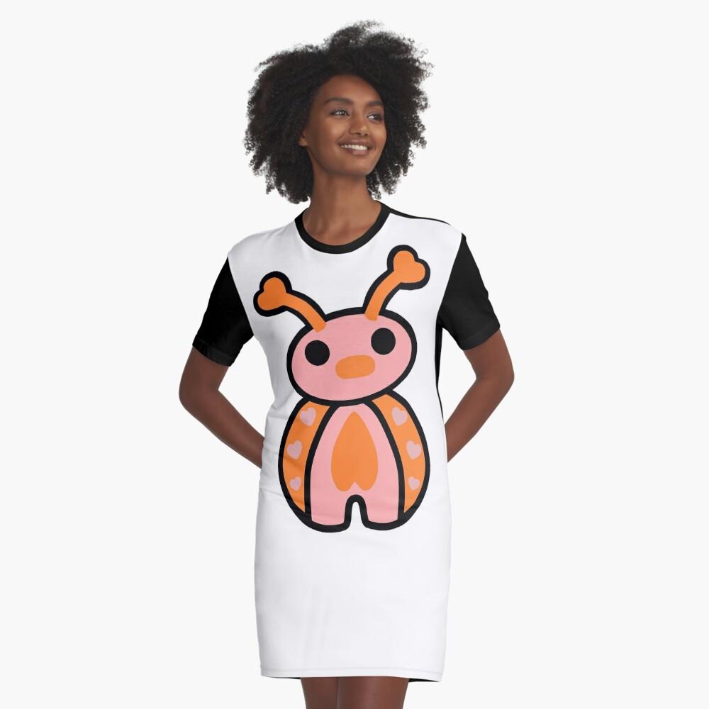 Epo the Ladybug Graphic T-Shirt Dress