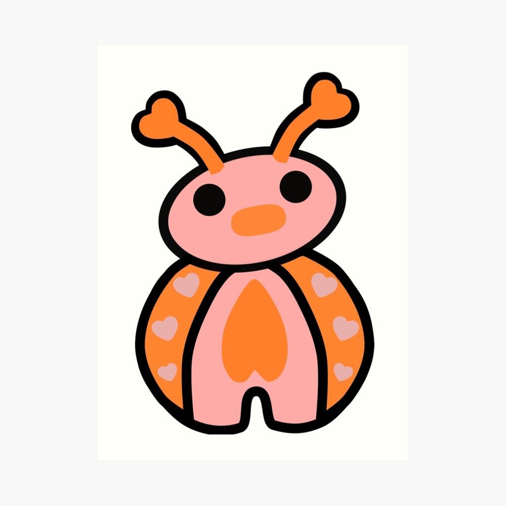 Epo the Ladybug Art Print