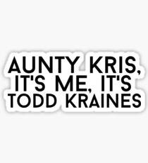 Pegatina Todd Kraines