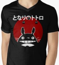 Totoro Men's V-Neck T-Shirt
