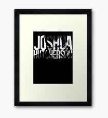 Joshua Hutcherson Framed Print