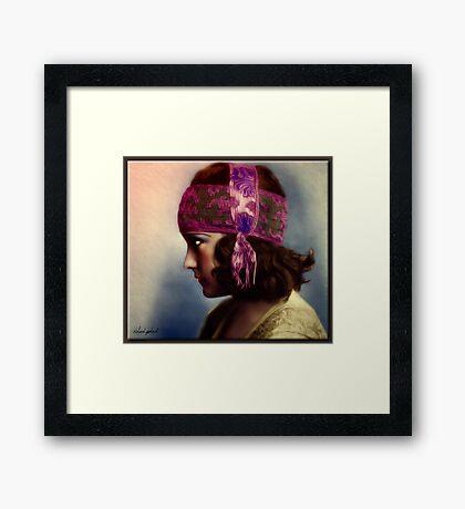 The Bohemian Girl Framed Print