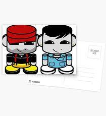 Daddy & Mommy Yo O'BABYBOT Toy Robot 1.0 Postcards