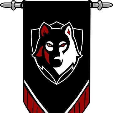 DND White Wolf banner by Snowfox