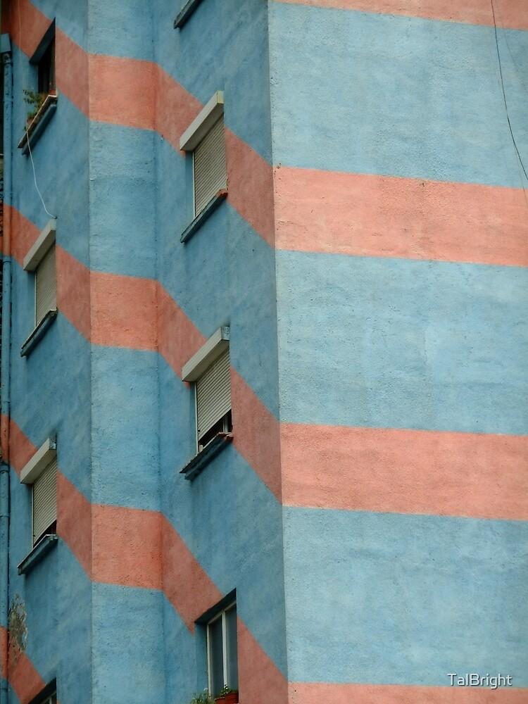 Urban Geometry - Tirana, Albania by TalBright
