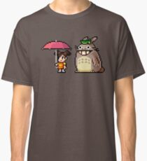 Waiting the Bus with Totoro Classic T-Shirt