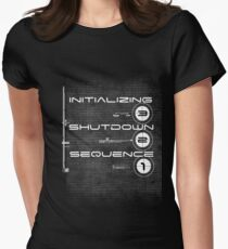 Future Wear 4.0-darker shirts Womens Fitted T-Shirt