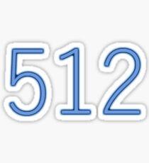 512 Sticker