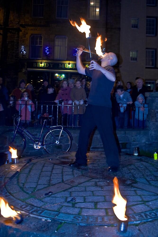 Fire Dancer III by Chris Clark