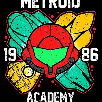 Metroid Academy by painthemain
