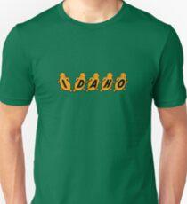 Idaho Potatoes Vintage Travel Decal Unisex T-Shirt