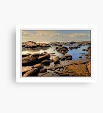 Low Tide at Kidd's Beach Canvas Print