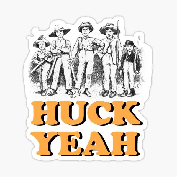 Huck Yeah! Sticker