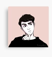 Accidental Model Howell Canvas Print