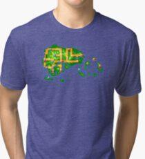 Hoenn map Tri-blend T-Shirt