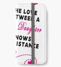 Mother and Daughter - Mother's day iPhone Wallet/Case/Skin