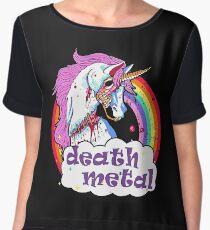 Zombie Unicorn Death Metal Chiffon Top