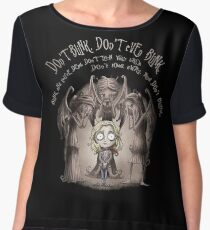Dont Blink Women's Chiffon Top