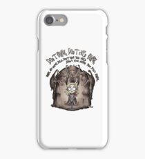 Dont Blink iPhone Case/Skin
