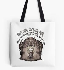 Dont Blink Tote Bag