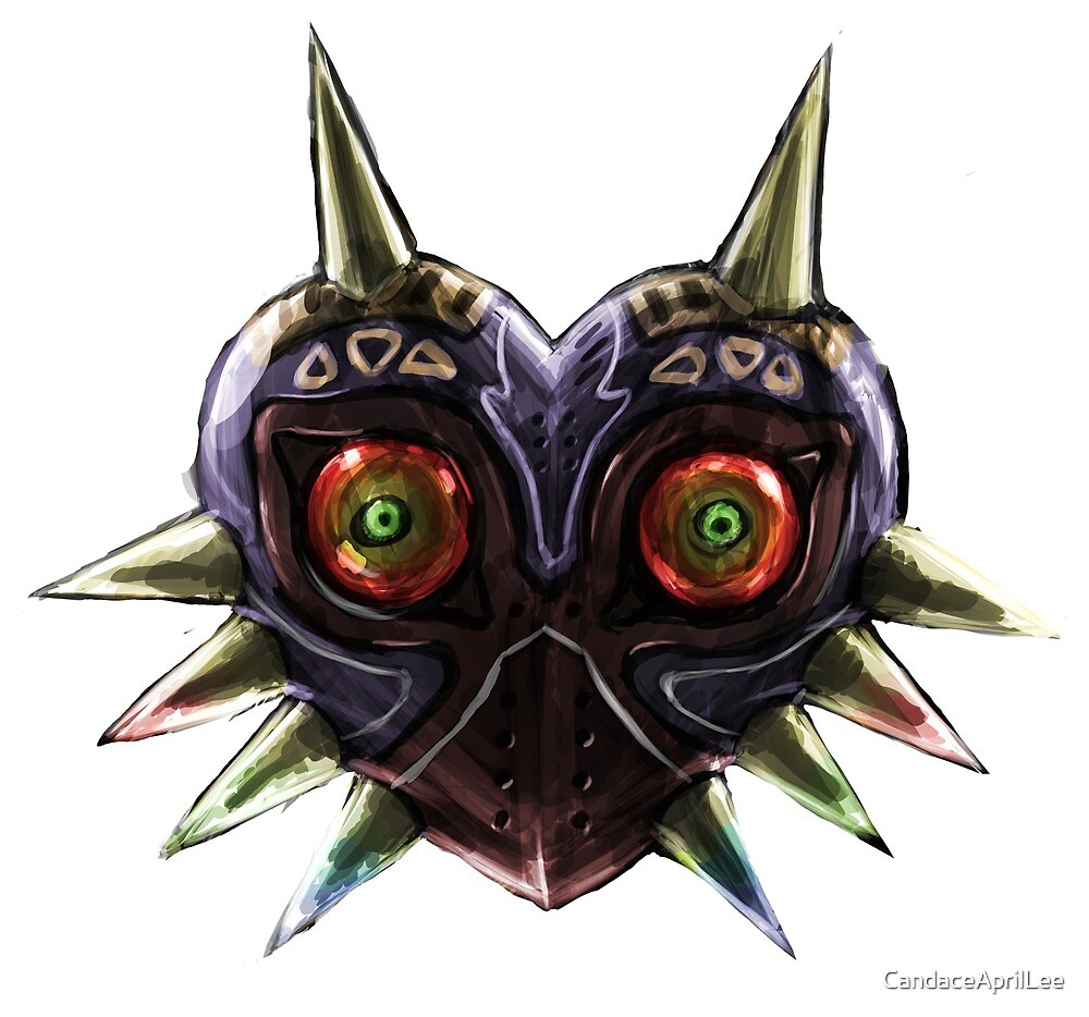 Majora's Mask by CandaceAprilLee