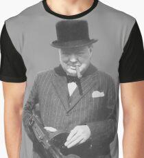 Sir Winston Churchill  Graphic T-Shirt