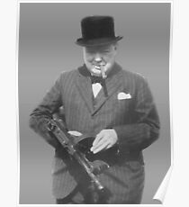 Sir Winston Churchill  Poster