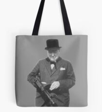 Sir Winston Churchill  Tote Bag