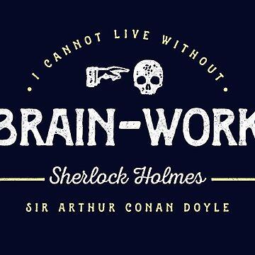 Sherlock Holmes: Brain-Work by tigerbright