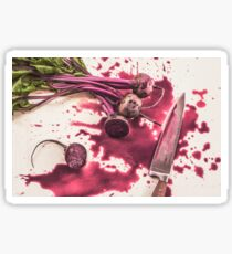 Bloody Beets Sticker