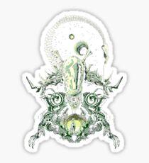 Alien Nightmare Sticker