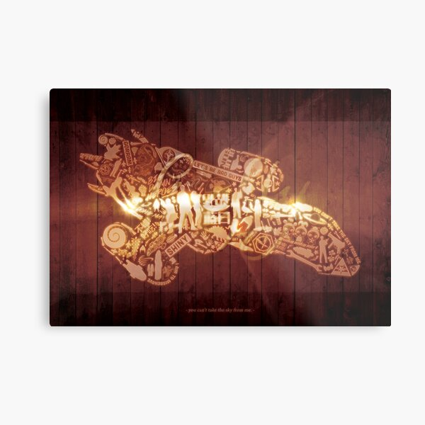You Can't Take the Sky from Me (print) Metal Print