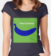blue banana Women's Fitted Scoop T-Shirt