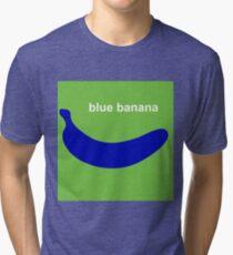 blue banana Tri-blend T-Shirt