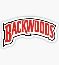 Backwoods - Logo Sticker