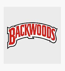Backwoods - Logo Fotodruck