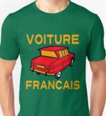 VOITURE FRANCAIS T-Shirt