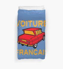 VOITURE FRANCAIS Duvet Cover