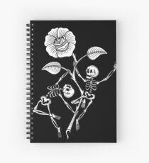 Cuaderno de espiral Skeleton Pole Dance