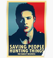 Saving People, Hunting Things Poster