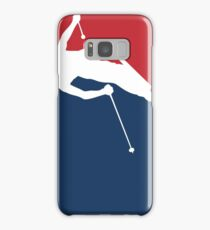 Skiing Samsung Galaxy Case/Skin