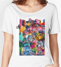 Cool Graffiti Collage 3 Women's Relaxed Fit T-Shirt