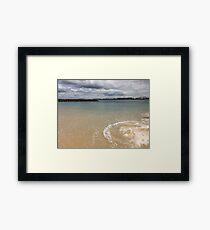 Beautiful clear water at Yarra Bay Beach Sydney, Australia  Framed Print