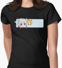 Wow! Kanna - Dragon Maid Kobayashi Womens Fitted T-Shirt